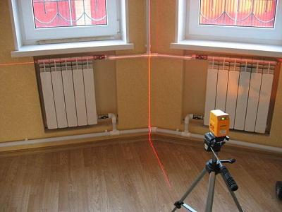 Биметаллические радиаторы установка схема